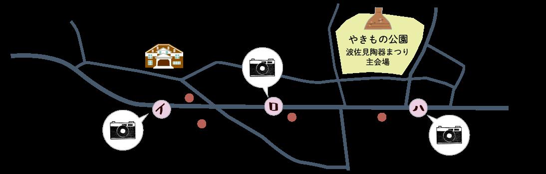 地図 イ ロ ハ