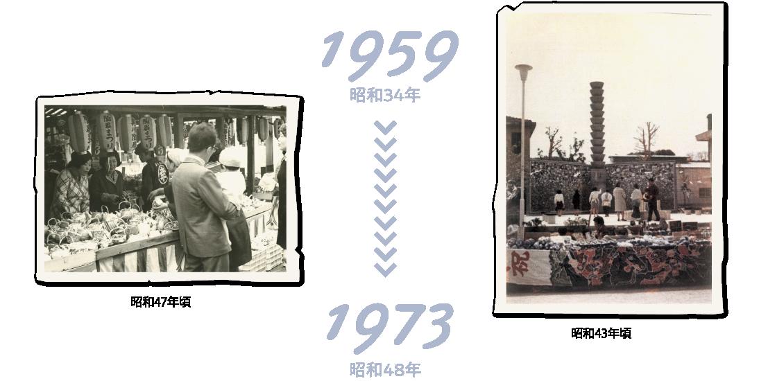 1959年〜1973年